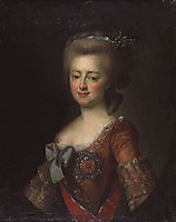 Portrait of Grand Duchess Maria Feodorovna, c.1785, levitzky