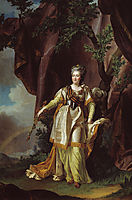 Portrait of Greate russian empress Catherine II, levitzky