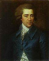 Portrait of Gubarev, 1788, levitzky