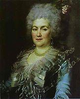 Portrait of Gubareva, 1789, levitzky