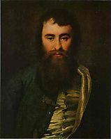 Portrait of A. I. Borisov, 1788, levitzky