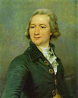 Portrait of I. I. Dmitriyev, c.1795, levitzky