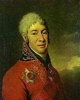 Portrait of I. V. Lopukhin, c.1803, levitzky