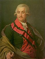 Portrait of Iosif Igelström, levitzky