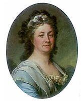 Portrait of M. I. Mussar, c.1785, levitzky