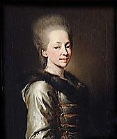 Portrait of Maria Palovna Narychkina, 1773, levitzky