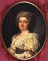 Portrait of N. Y. Levitsky (wife of the artist), levitzky