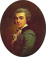 Portrait of Nikolay Lvov, 1774, levitzky