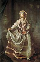 Portrait of A. P. Levshina, 1775, levitzky