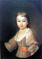 Portrait of Praskovia Vorontsova, levitzky