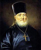 Portrait of priest, Peter Levitzky, 1812, levitzky