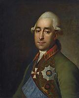 Portrait of Prince Alexander Prozorovskiy, 1779, levitzky