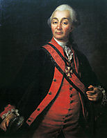 Portrait of Suvorov, levitzky