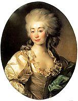 Portrait of Ursula Mniszech, 1782, levitzky