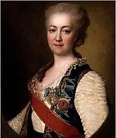 Princess Vorontsova Dashkova, 1784, levitzky