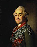 Russian general Mikhail Krechetnikov  , 1778, levitzky