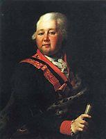 Valentin Platonovich Musin Pushkin, c.1790, levitzky