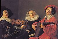 The Concert, 1633, leyster