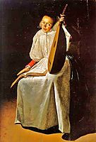 Girl with a Lute, 1631, leyster