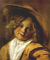 Girl with a Straw Hat, c.1635, leyster