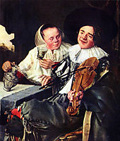 Merry Company, 1630, leyster