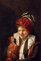 A Youth with a Jug, leyster