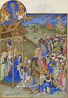 The Adoration of the Magi, limbourg