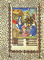 The Adoration of the Magi, c.1408, limbourg