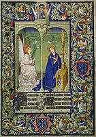 Annunciation, limbourg