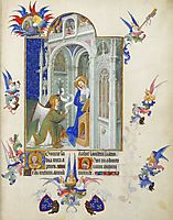 The Annunciation, limbourg