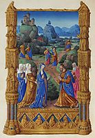 The Apostles Going Forth to Preach, limbourg