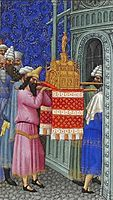 The Ark of God Carried into the Temple, limbourg