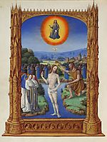 The Baptism of Christ, limbourg