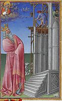 The Building of the Jerusalem Temple, limbourg