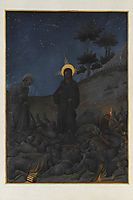 Christ in Gethsemane, limbourg