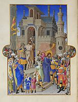 Christ Leaving the Praetorium, limbourg