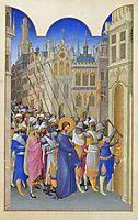 Christ Led to the Praetorium, limbourg