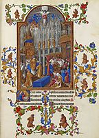 The Christmas Mass, limbourg