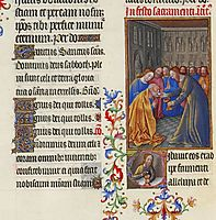 The Communion of the Apostles, limbourg