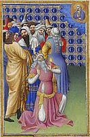 David Beseeches God Against Evildoers, limbourg