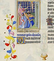 David Foresee the Coming of Christ, limbourg