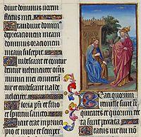David and Nathan, limbourg