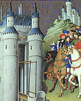 The Duke on a Journey, limbourg