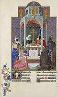 The Exaltation of the Cross, limbourg