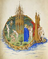 The Fall and the Expulsion from Paradise, limbourg