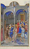 The Flagellation, limbourg