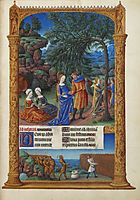 The Flight into Egypt, limbourg