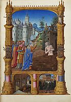 Job Mocked by His Friends, limbourg