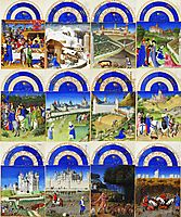 Labors of the Months, limbourg