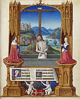 The Man of Sorrows, limbourg